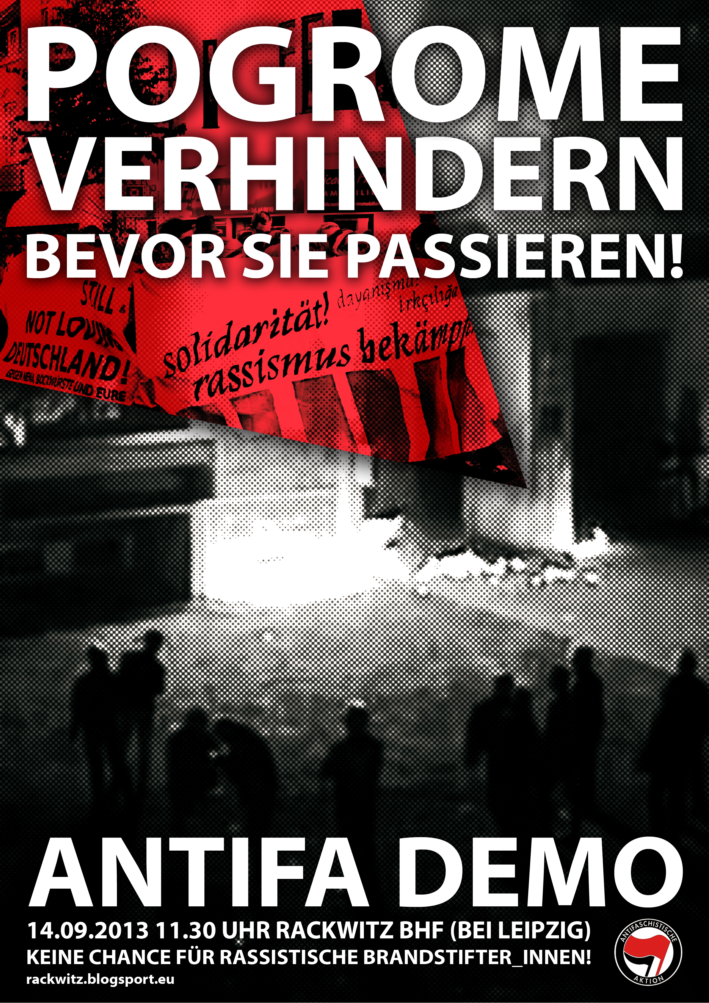 Antifa Demo Rackwitz